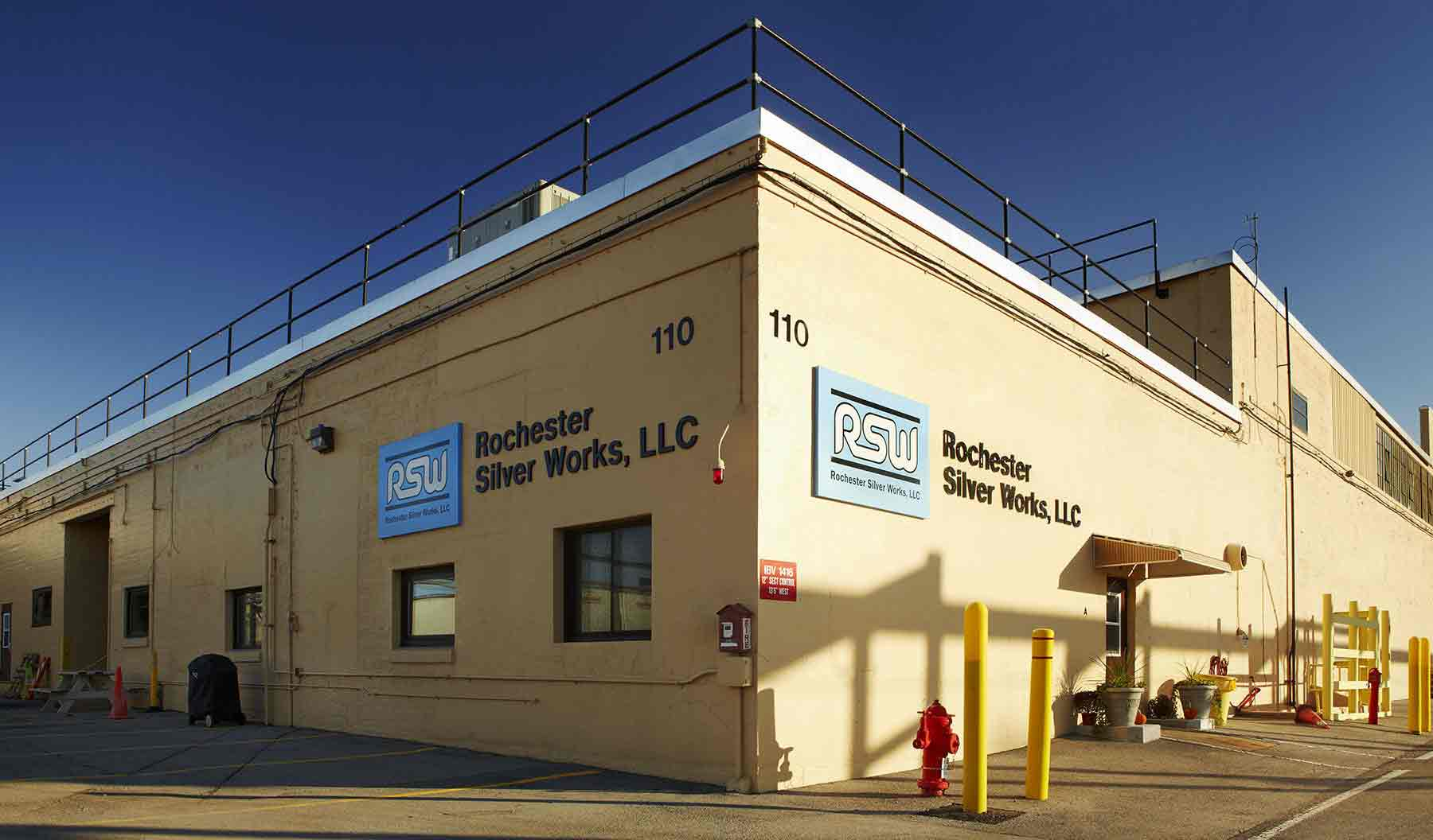 The RSW facility is housed on 10 acres in the Eastman Business Park (EBP), a 1,200-acre industrial complex in Rochester, New York.